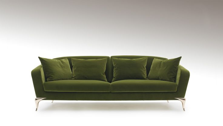 In love with the legs...foxy couch Paul Mathieu.