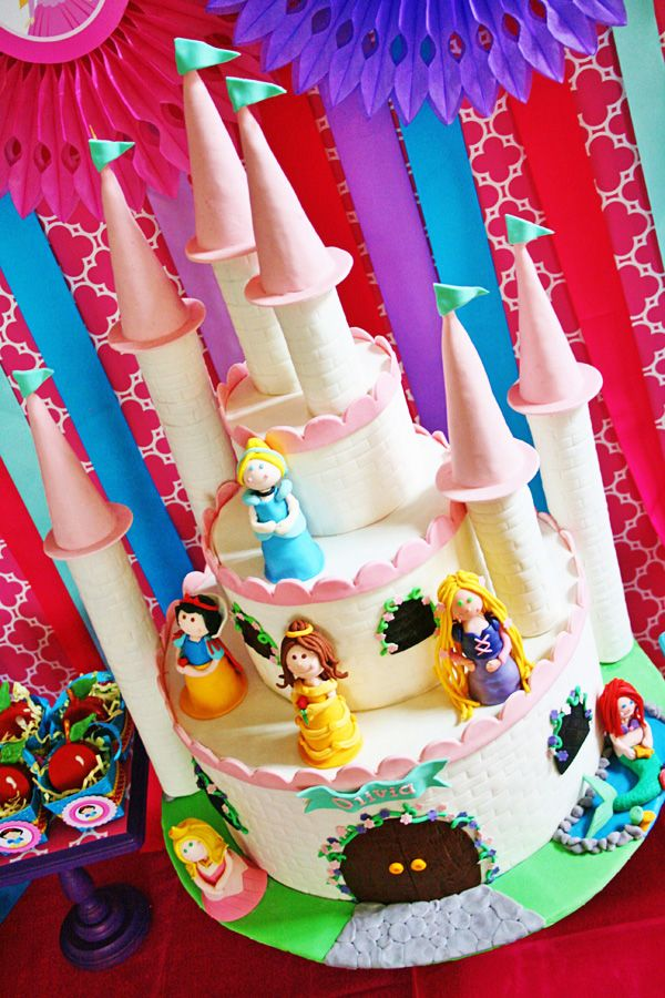 Colorful Disney Princess Party Ideas - MouseTalesTravel.com. Hmm, I see a birthday cake in my future :). Get busy practicing. Haha