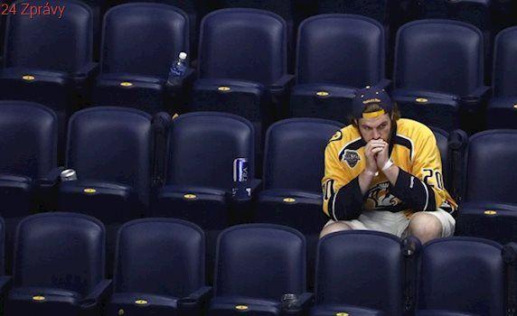 Můžu teď umřít? Fanoušek promrhal životní šanci na finále Stanley Cupu