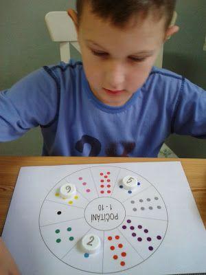 Matěj a náš život s autismem...: Počítám, počítáš, počítáme...