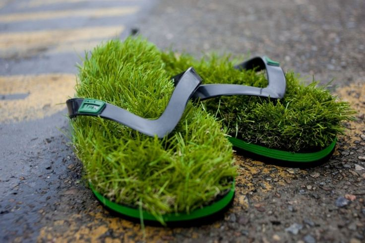 KUSA Grass Flip Flops | Man of Many