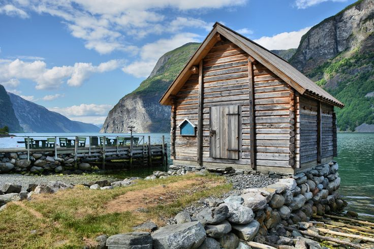 Boathouse at Undredal