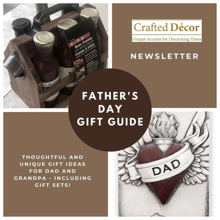 Father's Day Gift Guide now available! For those that can