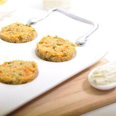 Recettes santé | Nutrisimple | Croquettes de quinoa et parmesan