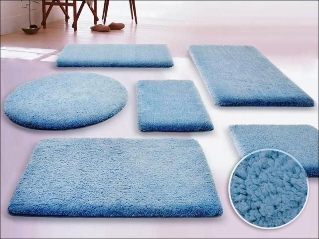 5 Piece Bathroom Rug Set Bathroomrugs Fluffy Bathroom Rugs