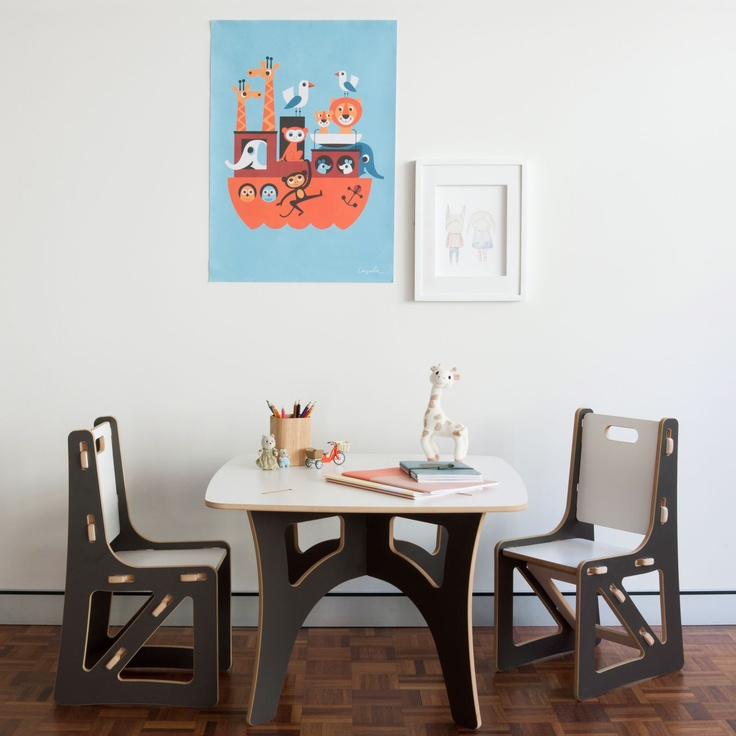 Sprout Kids Table and Chair Set   Zanui.com.au $249