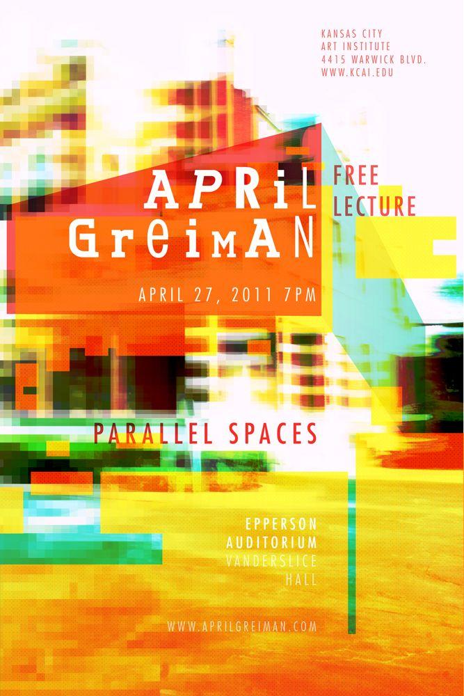 April Greiman - overlays