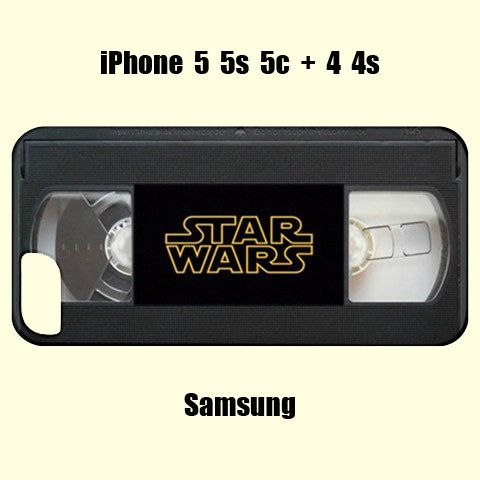 Star wars iphone case,star wars samsung case,star wars,vhs case,vhs samsung case,samsung,iphone,4s,5c,5s,geekery,retro case,retro iphone,4s on Etsy, $20.17 CAD