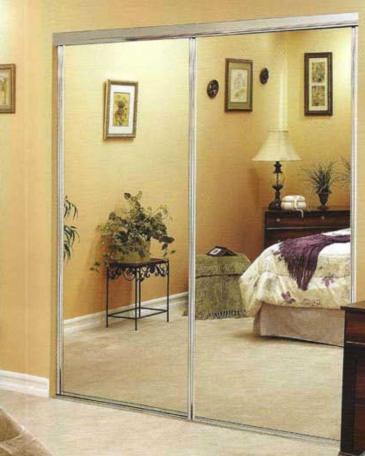 94 Best Images About Mirrored Closet Doors On Pinterest Sliding Barn Doors Mirror Door And