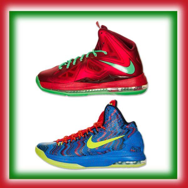 """Nike LeBron & KD Christmas"" by finishline on Polyvore"