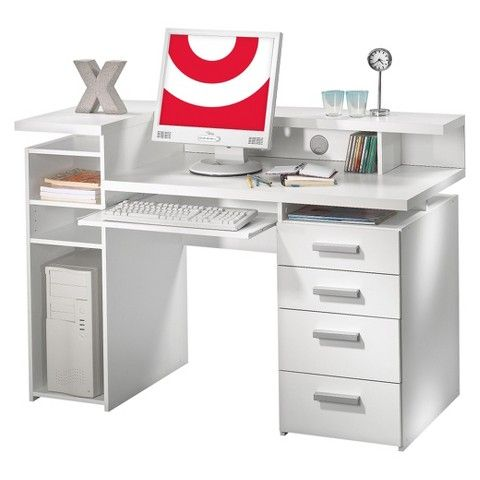 Vanity 218 50 Tvilum Function Plus Computer Desk And