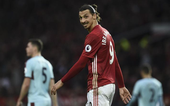Zlatan Ibrahimovic, football stars, Ibra, match, Manchester United, swedish footballers