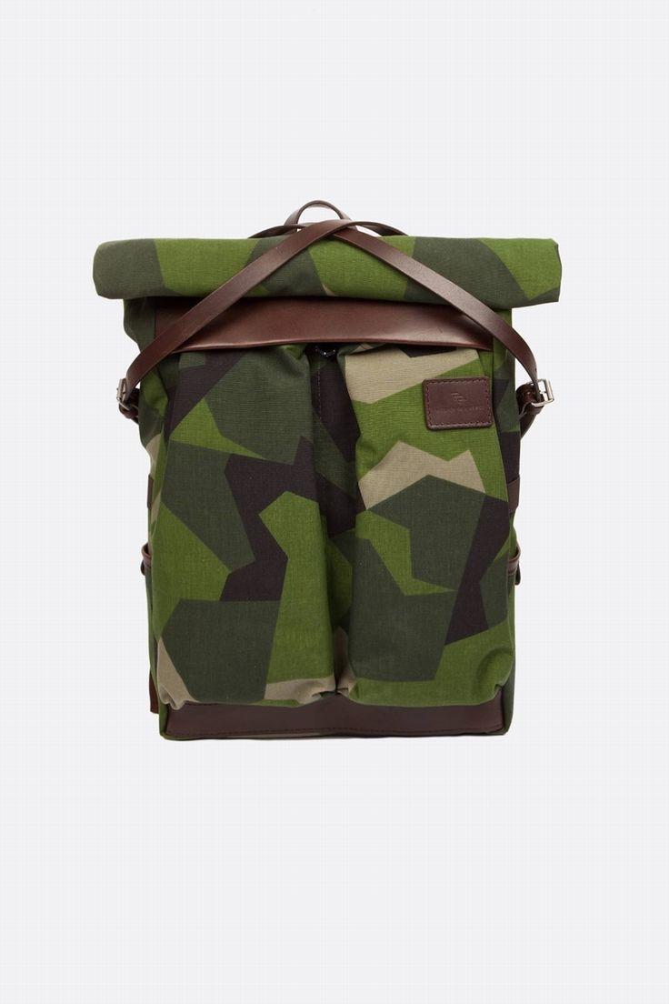 Le sac à dos géométrico-camo  qui est loin d'être passe partout // @ Atelier de l'Armée