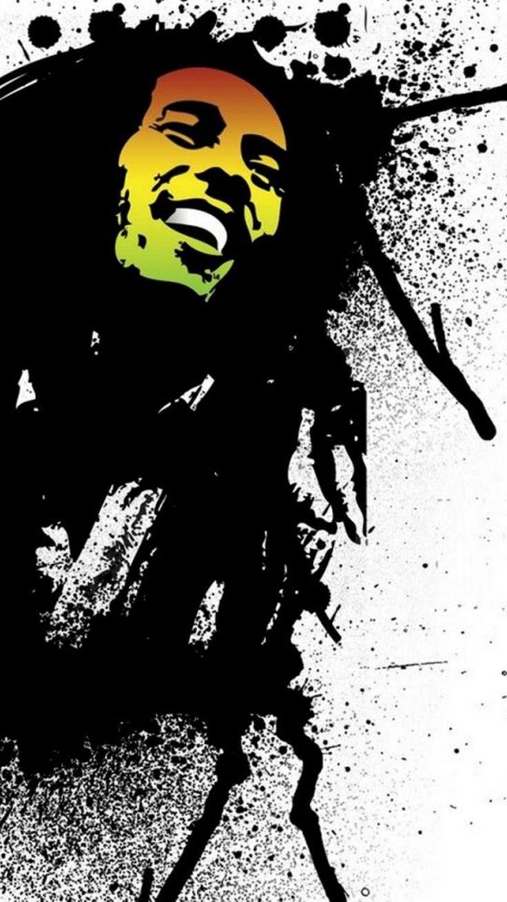 Notitle Iphone X Wallpaper 254312710194231804 Bob Marley Art Bob Marley Graffiti Art
