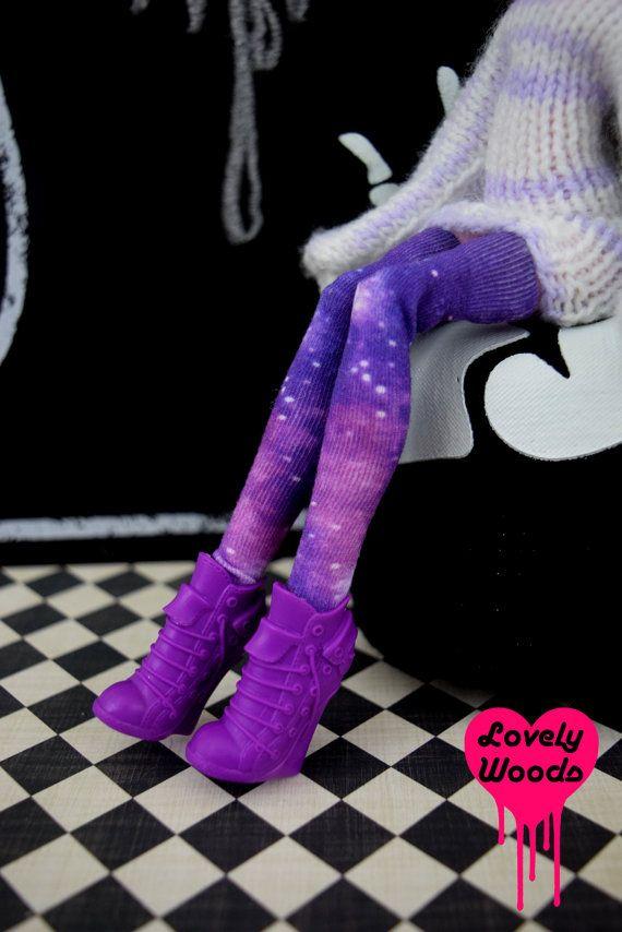 Blythe Pullip Leggings Galaxy Socken Strumpfhosen von LovelyWoods