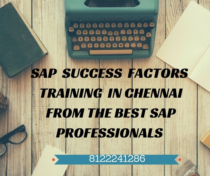 #Looking for the #best #SAP #Success Factors Training in #Chennai Contact us:8122241286 http://bit.ly/1YpqRSI