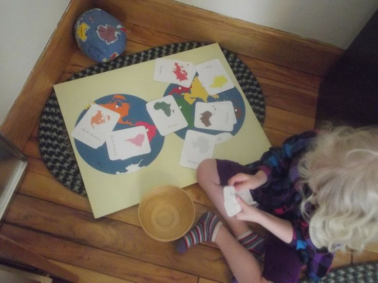 Like Mama ~ Like Daughter: Montessori Moments: Her Own Work