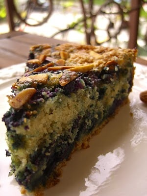 Blueberry almond coffee cake | Aaah Looks Yummy | Pinterest