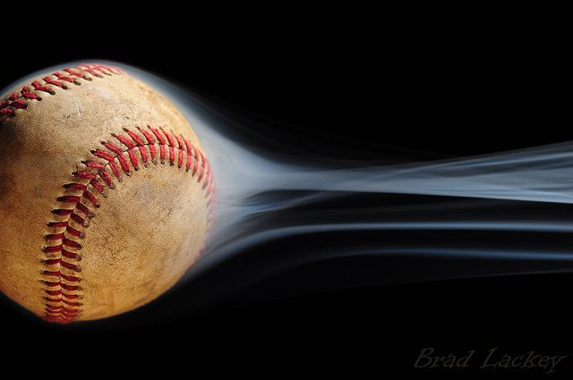 fast ball     I'm counting the days (while it snows here in Cincinnati) for Opening Day!