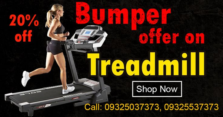 Magnus Marketing | Biggest Online #Treadmills #ExerciseEquipments Shopping Sale India‎ #MotorisedTreadmill Sale @ 20% off…! Hurry Offer for Few Days Shop Now!