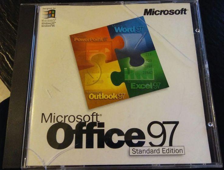 Case is broken but CD inside is in like-new condition<br/><br/>Microsoft Office. Office 97 Standard. | eBay!