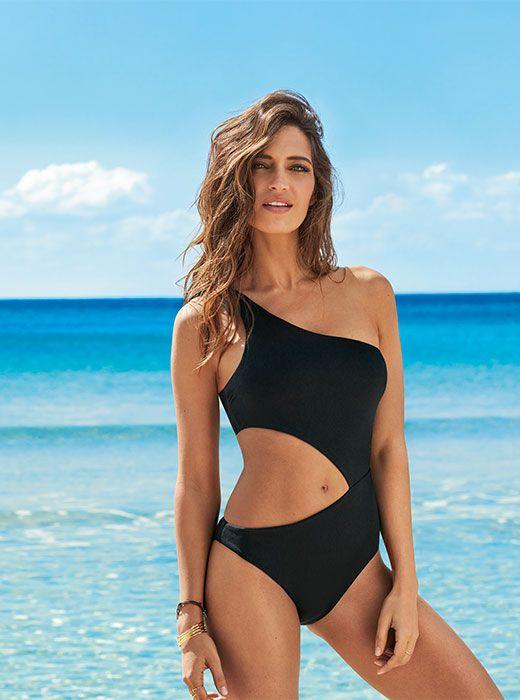 87ef87a6 CALZEDONIA | Bañador Entero de Canalé Cut Out Victoria | bikinis ...