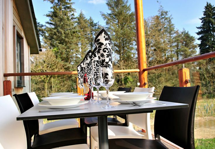 Private balcony - Woodland Hones - Self Catering @ The Cornwall Hotel, Spa and Estate | Luxury Accommodation | St Austell