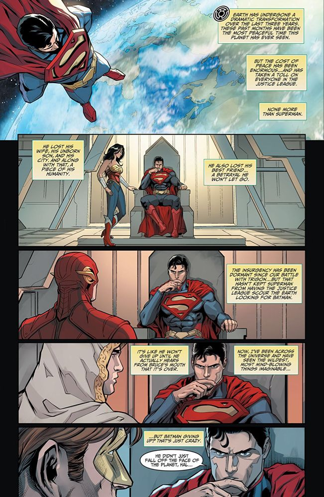 Injustice Gods Among Us Year Four The Complete Collection Comics By Comixology Comics Injustice Batman And Superman