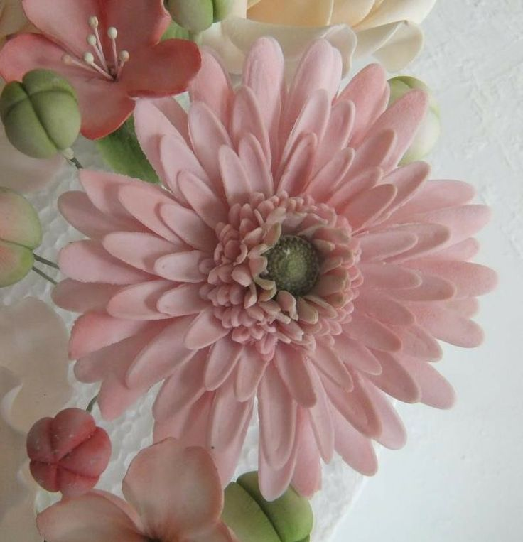 I remember making ivory coloured ones for my sisters wedding cake. A hard flower to make realistic