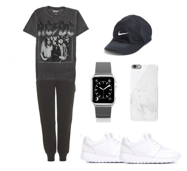 """""""Run , Nike Look"""" by fauzankamili on Polyvore featuring NIKE, Aéropostale, Casetify and Native Union"""