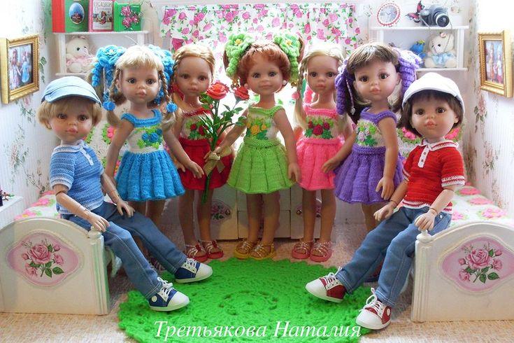 Подарки – это всегда приятно! Или наша новенькая девочка Женя / Куклы Паола Рейна, Paola Reina / Бэйбики. Куклы фото. Одежда для кукол