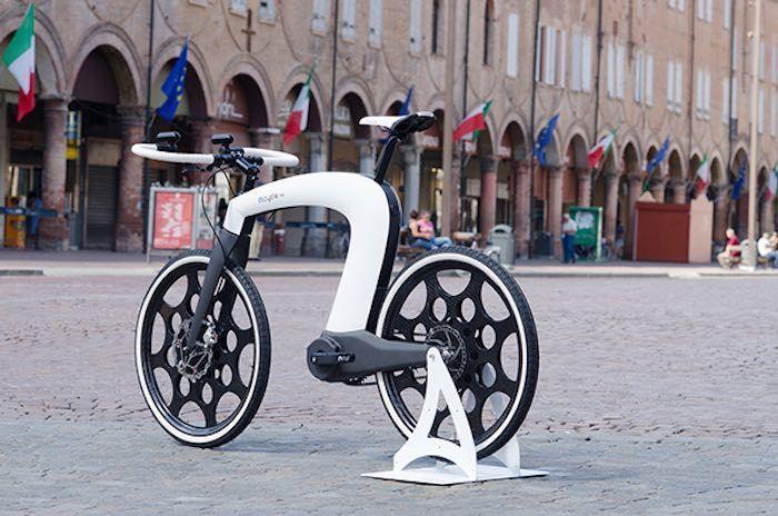 nCycle, concepto de bicicleta plegable y eléctrica para el siglo XXI
