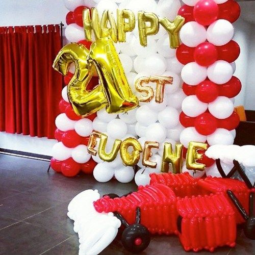 17 best Balloon Backdrops Balloon Decoration In Singapore images