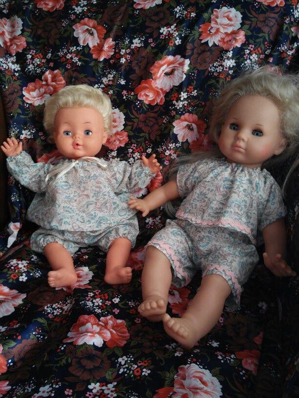 Retro clothes for dolls from Palitoy and Max Zapf. Clothes made by ewick (Ewa Kopka-Nowakowska)