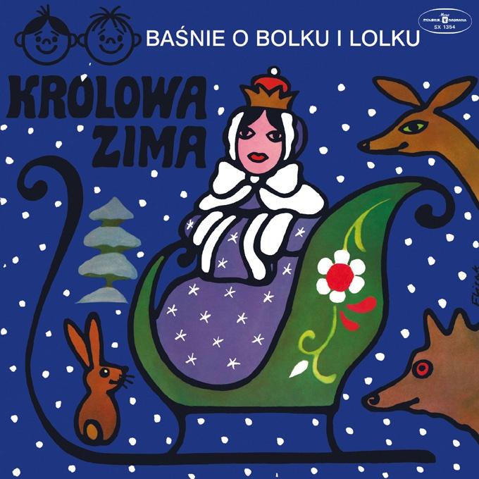 """Bajki-Grajki nr 74 """"Królowa Zima""""  www.bajki-grajki.pl"""
