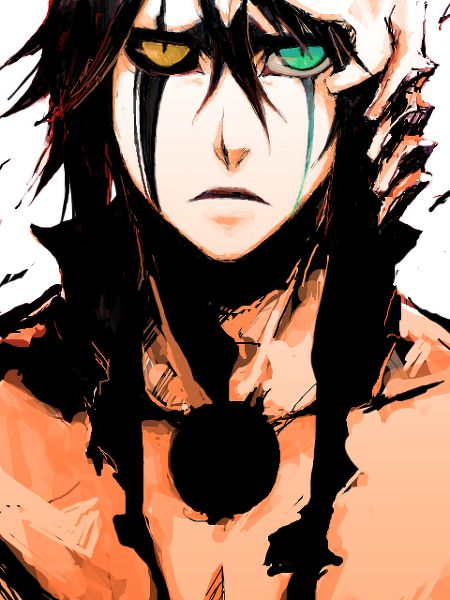 Ulquiorra Cifer = possibly my favorite Bleach character me too