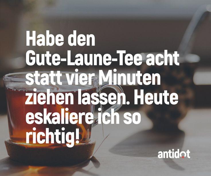 Heute eskaliere ich so richtig! Wir sind hier, um dein Online-Leben mit dem beeindruckendsten Inhalt zu begeistern, zu überraschen und zu inspirieren! #fun #antidot #spaß #lustig #sprüche #zitate #spruch #lifestyle #shop #deutsch #kreativ #facebook