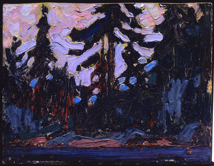 Tom Thomson Catalogue Raisonné | Nocturne, Algonquin Park, Summer 1915