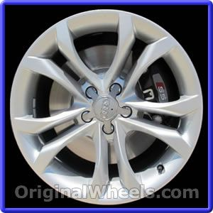 OEM 2008 Audi A5 Rims - Used Factory Wheels from OriginalWheels.com #AudiA5 #A5 #2008AudiA5 #08AudiA5 #2008 #2008Audi #2008A5 #AudiRims #A5Rims #OEM #Rims #Wheels #AudiWheels #AudiRims #A5Wheels #steelwheels #alloywheels