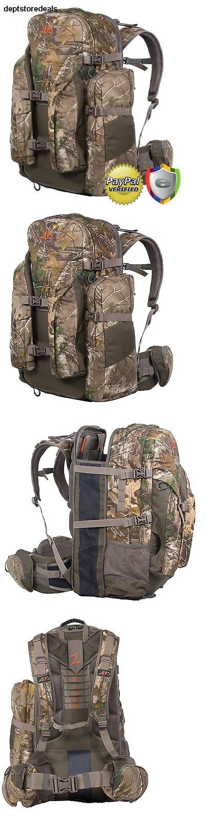 Hunting Bags and Packs 52503: Camo Hunting Backpack Camping Hiking Outdoor Back Pack Bow Rifle Hunt Camera Bag -> BUY IT NOW ONLY: $153.99 on eBay!