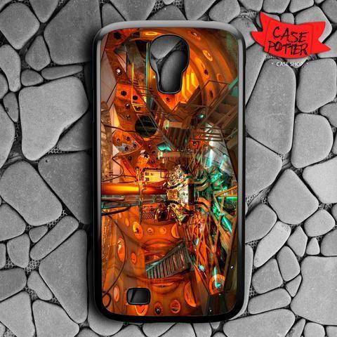 Lab Doctor Who Matt Smith Samsung Galaxy S4 Black Case