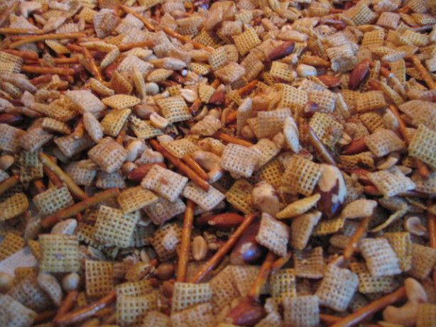 Chex Party Mix - The Original - I use this recipe all the time, it's easy to add other ingredients & just increase the seasoning to accommodate..