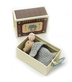 catbird::shop by category::BABY & KID::Mouse in Matchbox - Boy