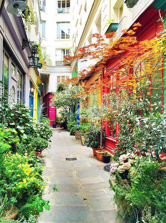 Une rue de Paris, France