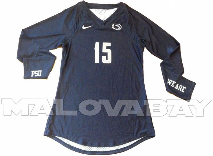Penn State Nike Volleyball Jersey #15 Women's Sm Agility DQT CAP Navy Blue NCAA #Nike #PennStateNittanyLions