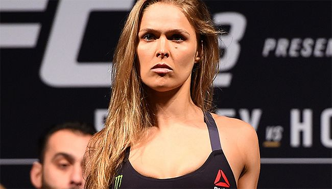 Ronda Rousey Attends Last Night's PWG Event Instead of UFC 196