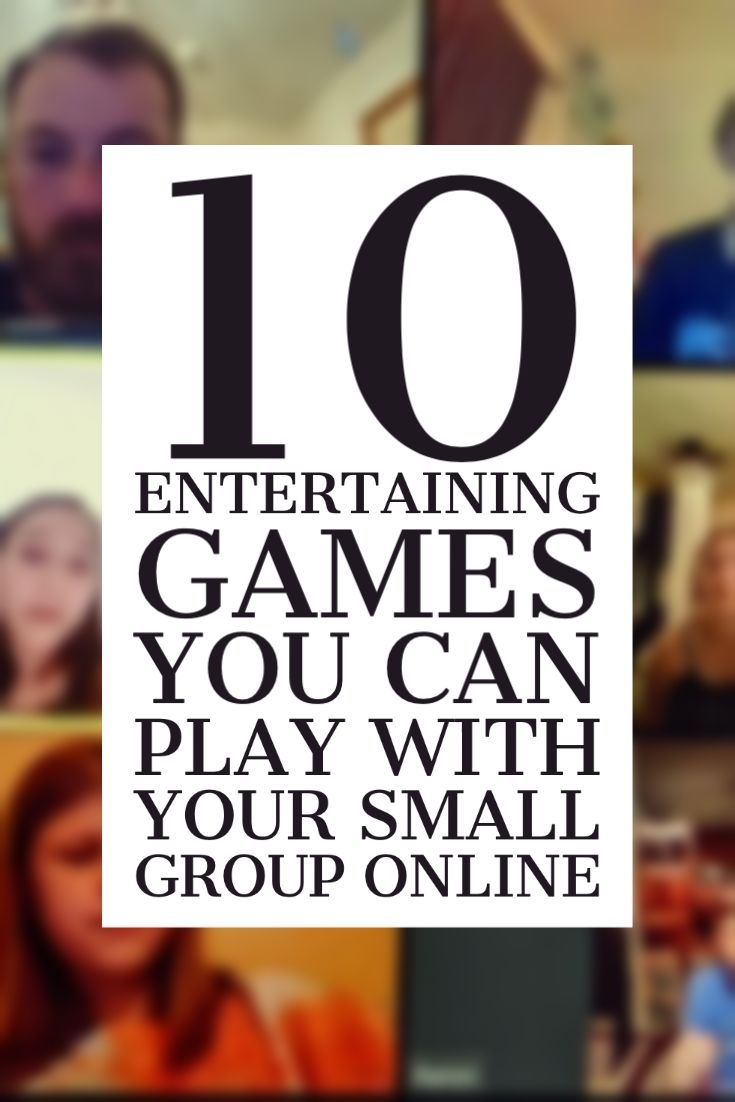 10 Entertaining Games You Can Play With Your Small Group Online Helping Youth Workers Build In 2020 Youth Group Activities Entertaining Games Online Teaching