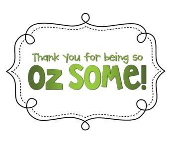 "Classroom Ideas Wizard of Oz | Being ""Oz-Some"" - Rewards Pack {Rainbow Theme} - Mrs Plum ..."