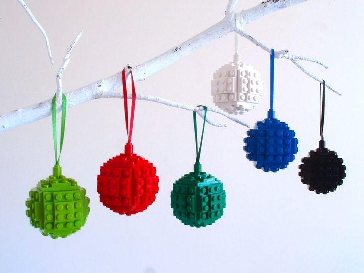 LEGO: Palline di Natale per l'albero