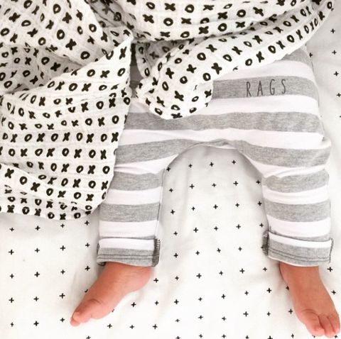 Awesome company that makes tons of muslin blankets in beautiful black and white only patterns.
